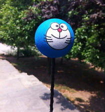 Cute Blue Doraemon Antenna Balls Car Aerial Ball Antenna Topper & Decor Ball