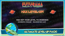 [iOS/Android] Futurama: Worlds of Tomorrow MAX Level-Up XP Pack!