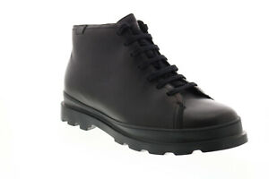Camper Brutus K300177-001 Mens Black Leather Zipper Casual Dress Boots