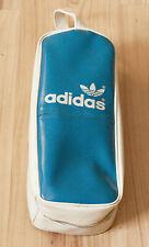 Vintage Adidas Schuhtasche Bowling Handball 80er 80s Sneaker Schuhe Blau Weiß