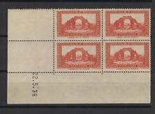 Algérie RF sites et paysages 4 timbres neufs coin daté 22.5.36  /T3263