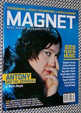 MAGNET Magazine, ANTONY & JOHNSONS, Sufjan, Spoon, NY Dolls, Echo