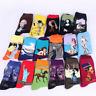Retro Famous Painting Art Socks Novelty Men Women Artist Style Socks Collection