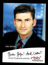 Axel Walter Autogrammkarte Original Signiert # BC 93075