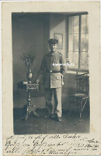 Foto Portrait Soldat-Coblenz Regt.? 1.WK (383)