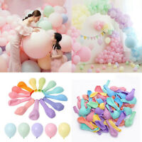 30x5inch Multicolor Pastel Candy Balloons Wedding Round Small Balloon Arch Decor