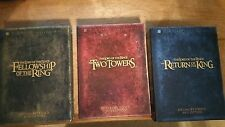 Lord Of The Rings New Line Platinum Series Triliogy Box Set 3 Movies