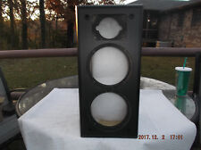 1  VINTAGE POLK 5 JR+ CABINET ONLY VERY GOOD CONDITION