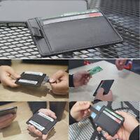 Dash Function Ultra-slim Wallet Pocket Minimalist Secure Thin ID Credit Card CH