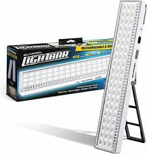 "Bell +Howell Light Bar Super Bright 60 LEDs Rechargeable XL 16.5"" with Kickstand"