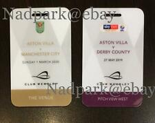 More details for aston villa carabao cup 2020 final + 2019 championship play off final vip passes