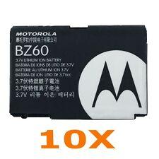 OEM MOTOROLA BZ60 BATTERY FOR RAZR V3,V3A,V3C,V3I,V3M,V3T,V3XX,V6 MAXX PEBEL 10X