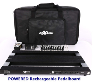 BoxKing PB4828A 12800mAh POWERED Rechargeable Pedalboard Light Weight