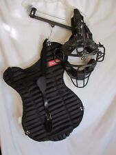Diamond DFM-43 Umpire Mask & chest Protector Catcher Vintage Maybe ??  Lot # 7