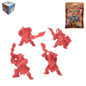 Tehnolog Mountain Orcs 2 Sets Of 4 Pieces 54 mm Scale Fantasy Battle No Painted