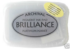 BRILLIANCE Archival Pigment Ink Pad - PLATINUM PLANET