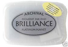 BRILLIANCE Archival Pigment Ink Pad - PLATINUM PLANET