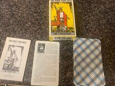 1971 The Rider Tarot Deck The Magician! 78 Card Tarot Deck!