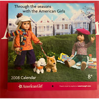 American Girl Calendar 2008 Julie & Ivy on cover Hard to find never used