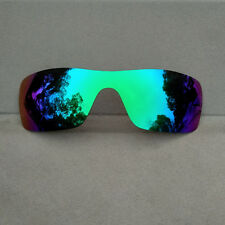 Polarized Green Mirrored Replacement Lenses for-Oakley Batwolf AU Sydney