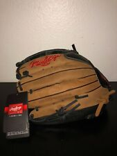 "Rawlings Premium Series Baseball Glove RHT 12.75"" Leather Shell D1275DB"