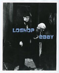 Rare LON CHANEY SR vintage photo OLIVER TWIST Carl Stockdale silent film classic