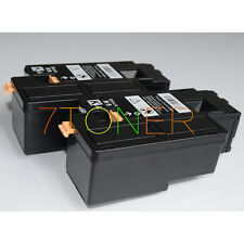2 x Toner Cartridges For Xerox Phaser 6010 6000 Workcentre 6015 6015V 106R01630