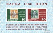 Zwitserland Blok 20 (compleet.Kwestie) gestempeld 1965 NABRA