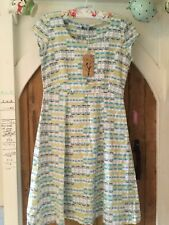 44b483ef9f6 Lily & Me Vintage Dress Linen Geo - size 10 - New with tags