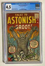 TALES TO ASTONISH #13 Atlas Comics 1960 CGC 4.5 GROOT 1st Appearance RARE