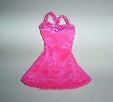 Barbie Clothes Lot Sweetheart Doll Hot Pink Dress