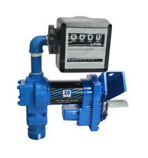 12 Volt Diesel Gasoline Anti Explosive Fuel Transfer Pump Digital Nozzle Meter
