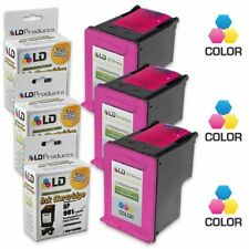LD © Reman Replacement Ink Cartridges for HP CC656AN (HP 901) Tri-Color 3pk