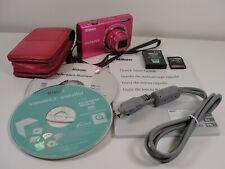 Nikon COOLPIX S6200 16.0MP Digital Camera - Pink - Bundle