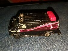 ERTL A-TEAM VAN MADE IN USA 1983 IN 1/64 SCALE BLACK BODY NEAT VAN