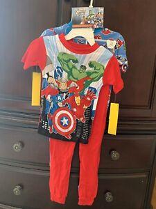 NWT Marvel Avengers - 2 Cotton Sleepwear Sets Kids' Size 10