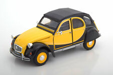 1:24 Welly Citroen 2CV 6 Charleston 1983 yellow/black