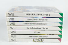 Nintendo Wii Video Game Bundle Job Lot - Rayman etc