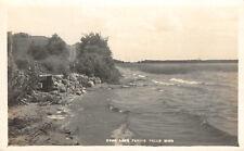 RPPC Swan Lake, Fergus Falls, Minnesota ca 1910s Vintage Postcard