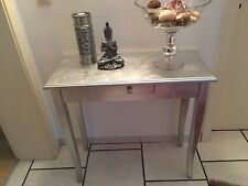Brandneu! Konsole Tisch Anrichte Wandtisch Silber foliert Impressionen