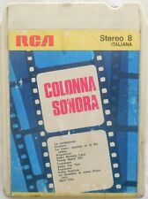 CARTRIDGE TRACK TAPE CASSETTA STEREO 8 COLONNA SONORA FILM MORRICONE