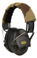 MSA Sordin Supreme Pro X Gehörschutz, Gelkissen, Camo-Kopfband, schwarze Cups GE