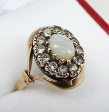 Opal 9 Carat Vintage Fine Rings (Unknown Period)