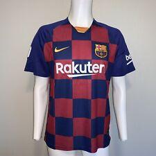 FC BARCELONA Nike Home Soccer Jersey Mens Medium