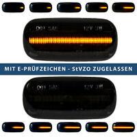 2x Dynamische 14 LED Seitenblinker für AUDI A3 A4 A6 A8 TT Laufblinker E-Prüfzei