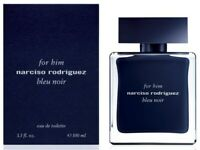 FOR HIM NARCISO RODRIGUEZ BLEU NOIR cologne edt 3.3 oz 3.4 New in Box