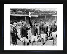 England World Cup Win 1966  Framed Photo CP0955