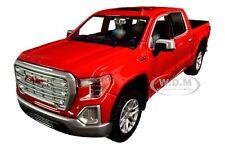 2019 GMC SIERRA 1500 SLT CREW CAB PICKUP RED 1/24-1/27 DIECAST BY MOTORMAX 79361