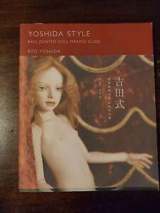 Yoshida Style Ball Jointed Doll Making guide ( Japanese version) bjd