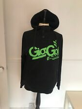 "GIO-GOI BLACK HOODIE  ,Chest Size 38"" SKATEBOARD/ SURFER"